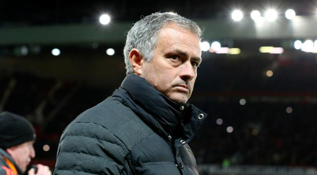 Trophy mission: Manchester United boss Jose Mourinho