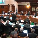 General view of the Supreme Court in session, where the Government is appealing against a ruling that the Prime Minister must seek MPs' approval to trigger the process of taking Britain out of the European Union.