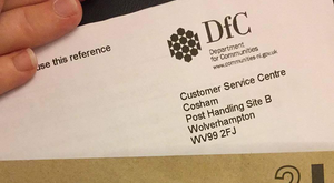 The letter has caused some concern over whether it was genuine or a potential scam.