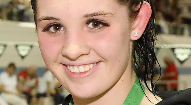 Rachel Bethel finished fourth in the girls' 200m freestyle, 0.15 seconds off third and another bronze medal