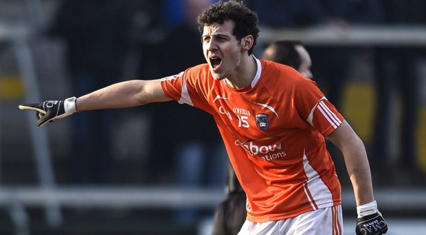 Big boost: Jamie Clarke is expected to return to play for Armagh