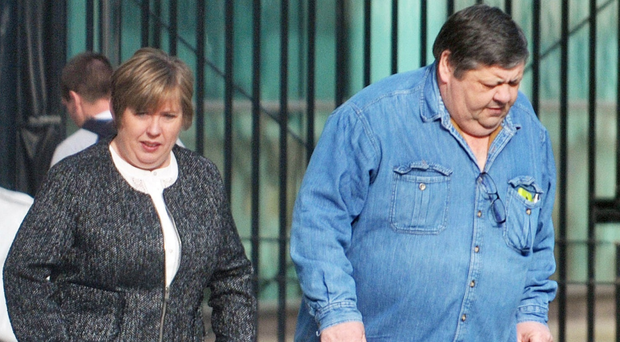 £30,000 benefits fraudster Michael Rennick and his wife Brenda Rennick at Belfast Crown Court after admitting guilt.