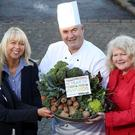Susie Brown (Tourism NI), Jackie Reid (Belfast Telegraph), Paul McKnight (Culloden Hotel), Michele Shirlow (FoodNI)