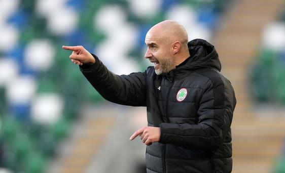 Stern test: Cliftonville boss Ger Lyttle must take his side to Ballymena in the fifth round of the Irish Cup
