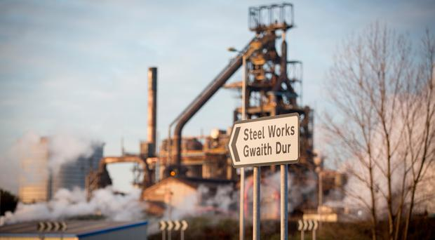 Tata Steel has made a commitment to the future of jobs and production at Port Talbot in Wales. Photo: Matt Cardy/Getty Images