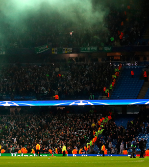 Discipline: Celtic are facing charges over fans behaviour. Photo: Clive Brunskill/Getty Images