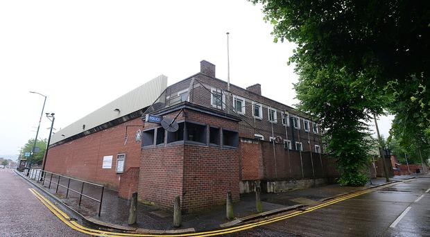Willowfield police station in east Belfast is to be sold off.