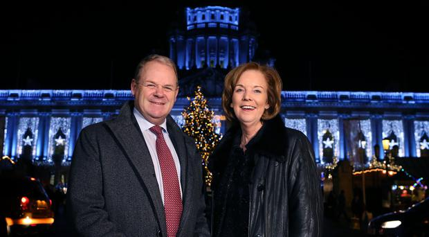 Brian Ambrose is stepping down from his position at Tourism Ireland, to be replaced by businesswoman Joan O'Shaughnessy (right)
