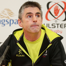Digging deep: Ulster coach Niall Malone is confident