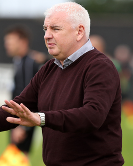 In the market: Gavin Dykes is keen to strengthen the Mallards in January