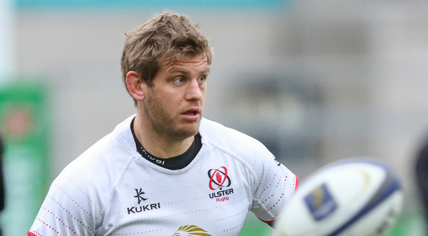 Raring to go: Chris Henry during the captain's run at Kingspan yesterday