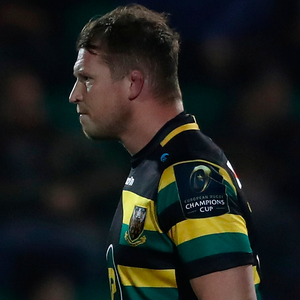 Shocker: England skipper Dylan Hartley after his dismissal last night