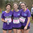The Belfast Telegraph Runher pop up event at Parkanaur Forest Park in Dungannon