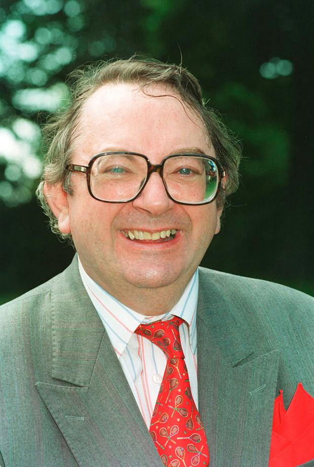 File photo dated 21/6/1993 of former TV weatherman Ian McCaskill who has died aged 78, the BBC confirmed. PA