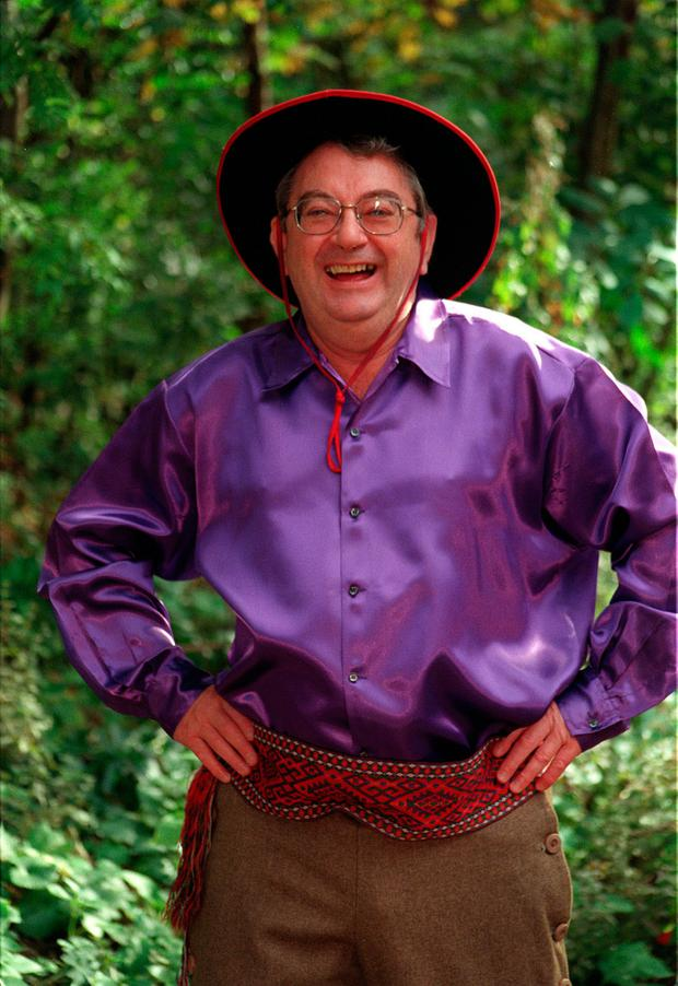 File photo dated 20/10/1998 of Ian McCaskill during a photocall for the pantomime 'Puss In Boots' ' as the former weather forecaster has died aged 78, the BBC confirmed. PA