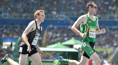 King of the track: Michael McKillop won his fourth Paralympics gold medal in Rio