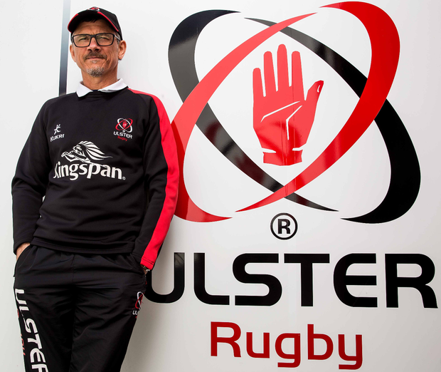 Work to do: Les Kiss admits Ulster will have to improve if they are to do the European Champions Cup double over Clermont