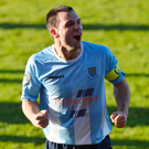 Man on a mission: Jim Ervin is determined to keep Ballymena United's League Cup dream alive