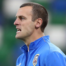 No bother: Oran Kearney is happy to be an underdog