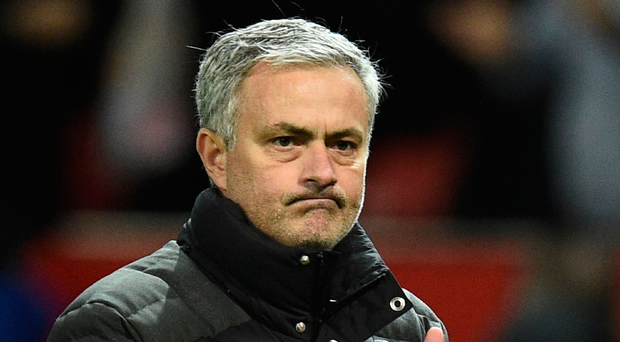 Good news: Jose Mourinho is thrilled with St Etienne draw