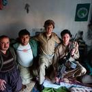 William and Craig pictured with members of the Peshmerga military force