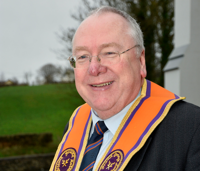 Mervyn Gibson: Extremely honoured to be elected Orange Order Grand Secretary