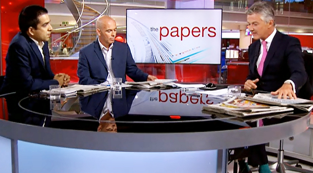 The BBC's What The Papers Say programme makes use of commentators