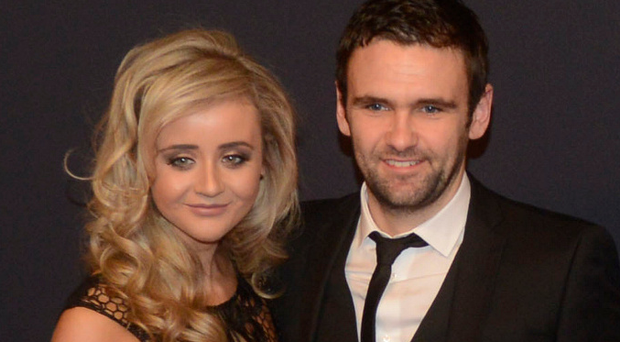 Life in the fast lane: William Dunlop and partner Janine at the SPOTY awards held in Belfast last year