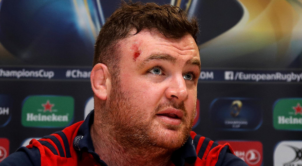 Battler: Dave Kilcoyne has been central to Munster's revival but faces fierce competition for a place in the Ireland side. Photo: Tommy Dickson/INPHO
