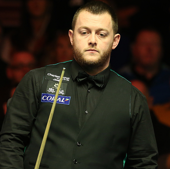 Exit: Mark Allen bowed out of the Scottish Open last night