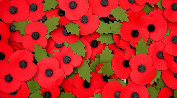 A number of wreaths that were removed from the cenotaph in Enniskillen will be replaced