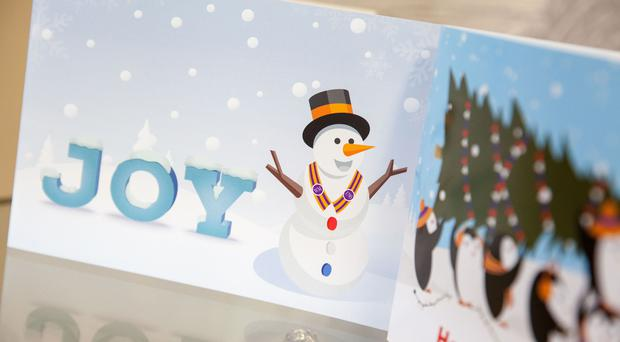 The Orange Institution has revealed its latest light-hearted Christmas cards, featuring penguins and a collarette-wearing snowman