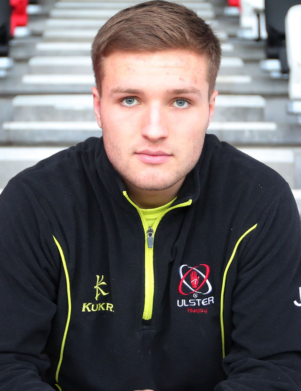 On target: Johnny McPhillips is in good form for Ulster 'A'