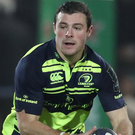 Shining light: Robbie Henshaw is in form for Leinster