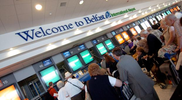 Strike action by check-in staff, baggage handlers and cargo crew could hit airports all over the UK, including Belfast International