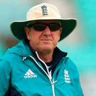England's Head Coach Trevor Bayliss