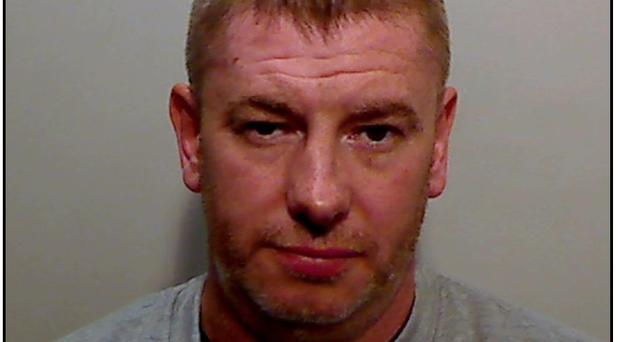 Barry Petticrew has been sentenced to 14 years after admitting possession of explosives, firearms and ammunition