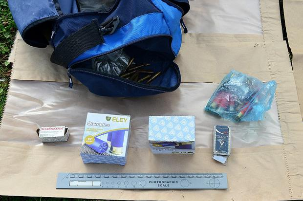 Some of the items seized in Kinawley