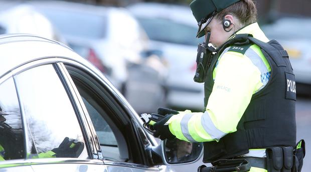 Hundreds of motorists arrested in Northern Ireland drink drive crackdown - 700 police checkpoints