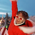 Casey Neistat goes off piste using a drone to lift him 25ft in the air