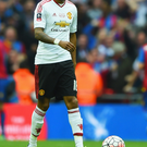 Out of favour: Ashley Young has featured in only five league games this season