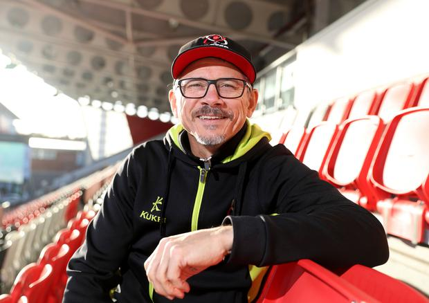 Home comfort: Les Kiss wants Ulster to get their festive programme of games off to a flying start