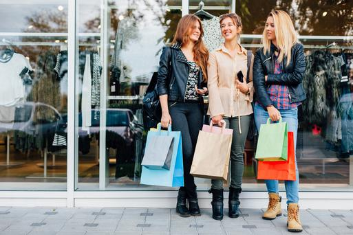 Shoppers will spend £726m tomorrow, a big drop on last year's expected cash splurge of £1.4bn