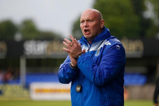 On the up: David Jeffrey is delighted with the progress being made by his Ballymena players