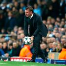 Bounce of ball: Brendan Rodgers isn't a fan of plastic pitches