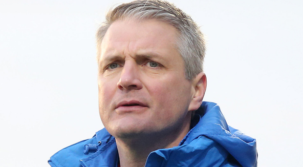 Colin Nixon preparing for a 'must not lose' match against Carrick Rangers