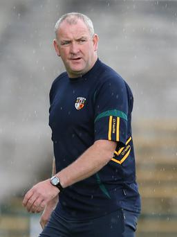 New blood: Antrim boss Frank Fitzsimons to give novices a chance