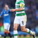 Positivity: Scott Brown has hailed Celtic's team spirit
