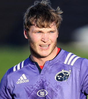 I feel good: Munster's Tyler Bleyendaal is finding top form after injury