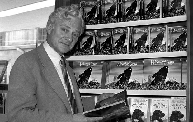 File photo dated 18/10/78 of Watership Down author Richard Adams who has died aged 96, a statement on the book's official website said. PA